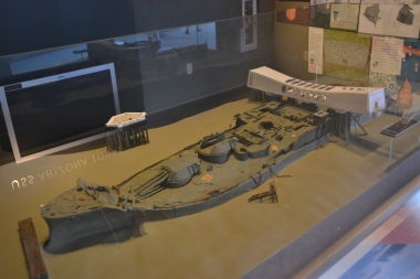 Model of the USS Arizona