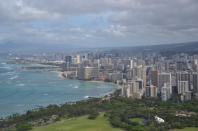 View of Honolulu from Diamond Head