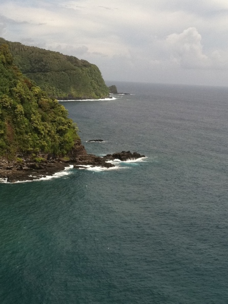 View from a Lookout along the Road to Hana