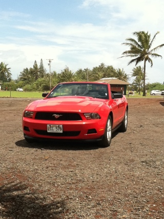 Our Rental Car