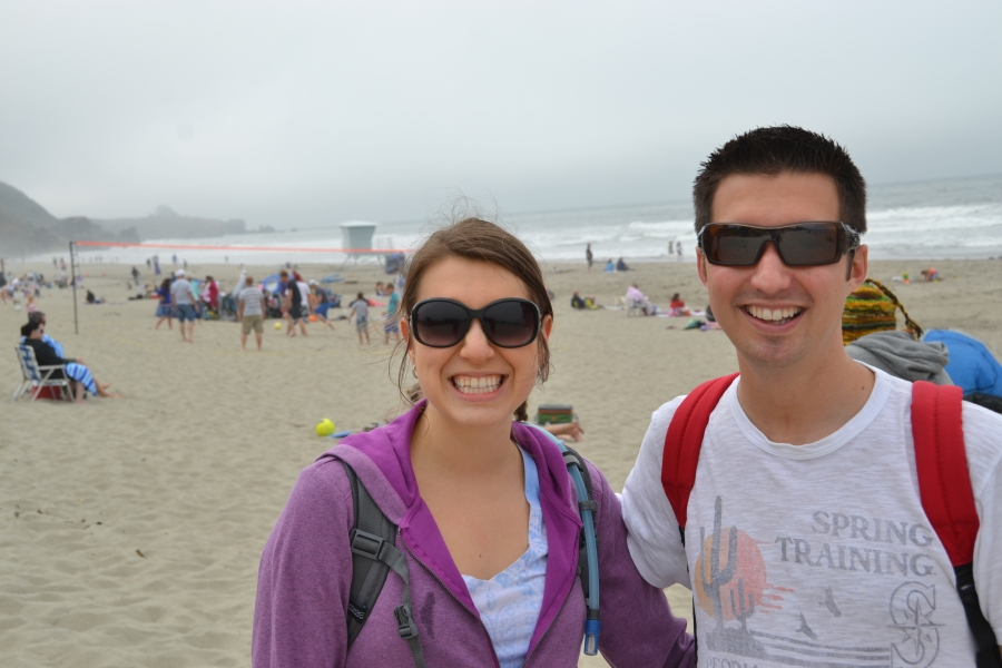 Me and Mike @ Stinson Beach