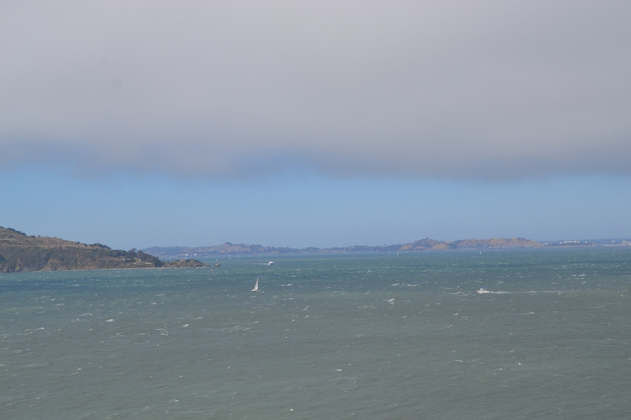 Sanfranciso Bay View from Alcatraz tour boat