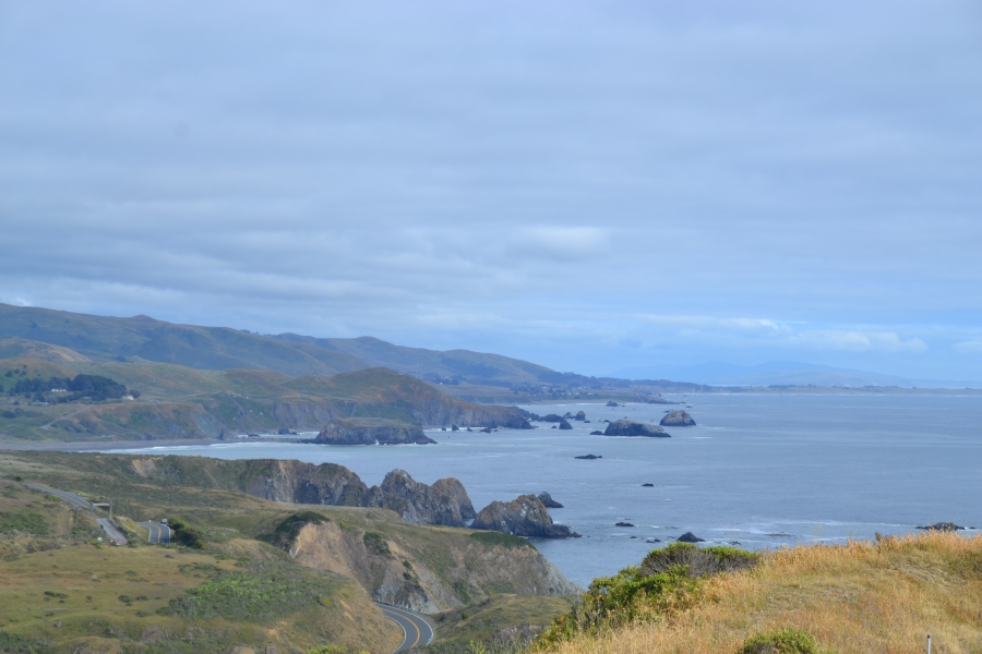 I'm pretty sure this picture of the California Coast-line could pass for a picture of Ireland!