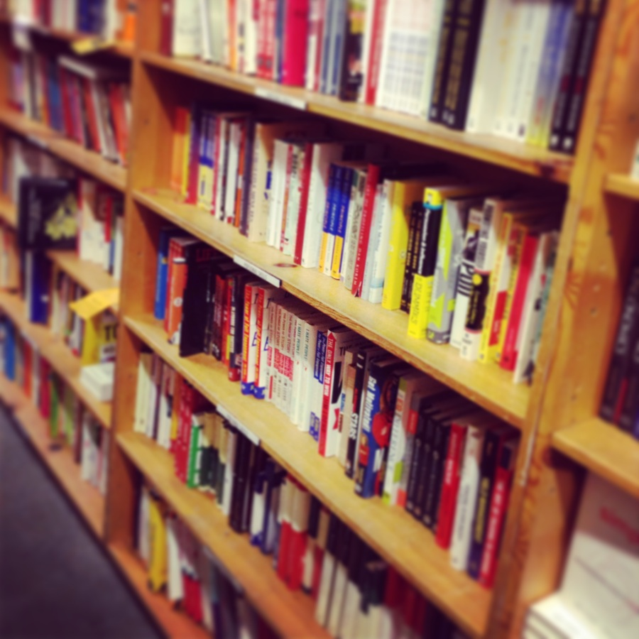 A section at Powell Books