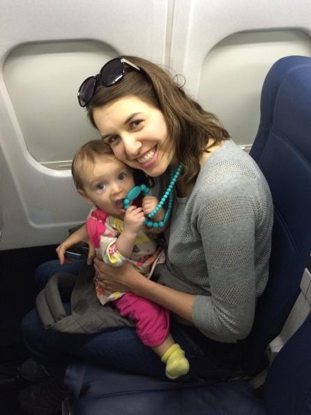 First plane ride