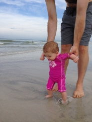 First Steps in the Sand