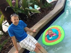 Fun in the pool!