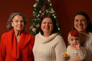 4 generations of women!