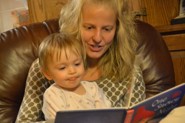 Reading with Aunt Ashley