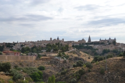 View of Toledo from Across the River near our hotel