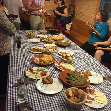 Spanish Tapas on Sunday Night
