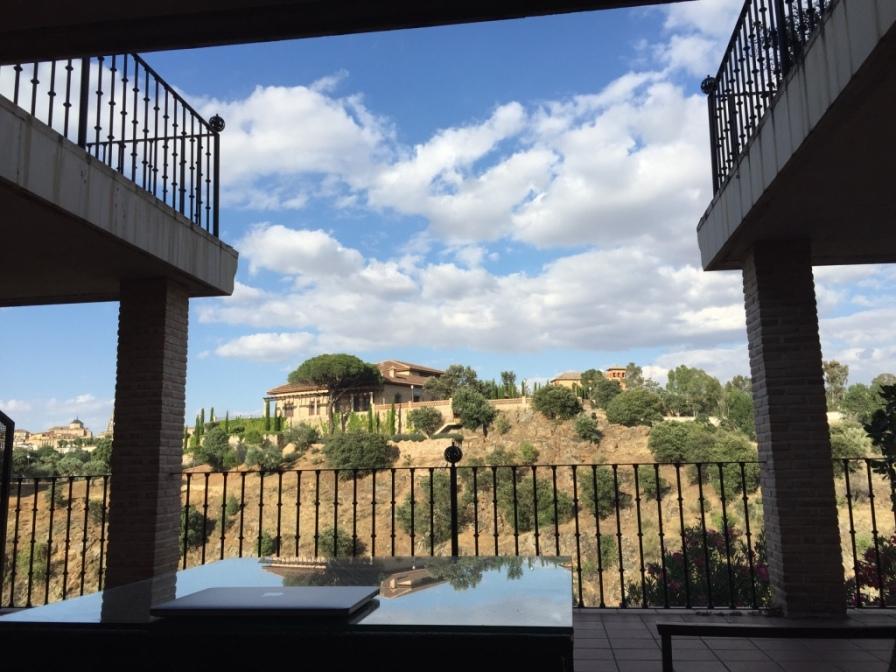 Views form the balcony