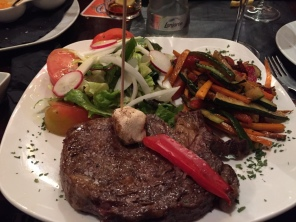 My amazing steak!