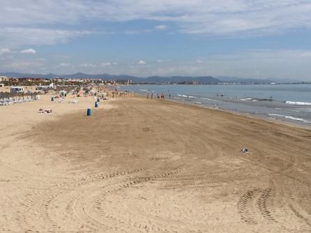 Arenas and Malvarrosa beaches