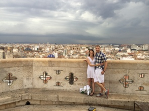 Us at the top of Valencia!