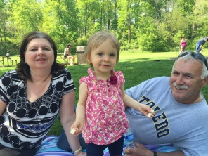 Summertime in the Park with Nana and Grand-dad