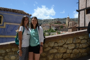 Ashley and I in Albarracin