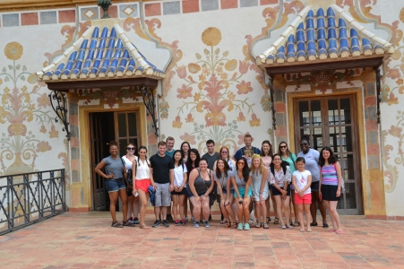Group Picture @ Ducal Palace of Gandia