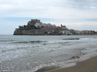 View of the Castle from the Beach #noSun