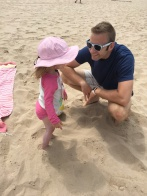 First Steps in the Sand!