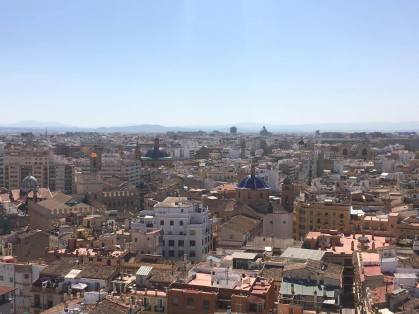 "View of Valencia from the Bell Tower ""El Miguelete"""