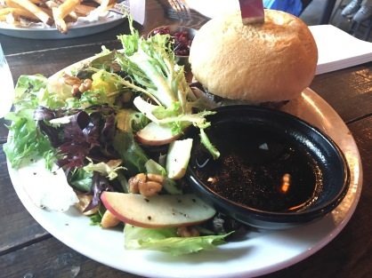 Salad + Burger