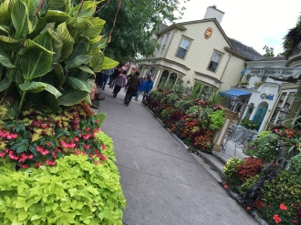 Main Street area of Niagara on the Lake